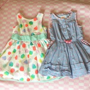 2 Toddler girl dresses